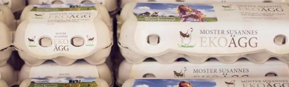 Nu finns våra lokalt värpta ekologiska ägg på ICA Supermarket i Hjo